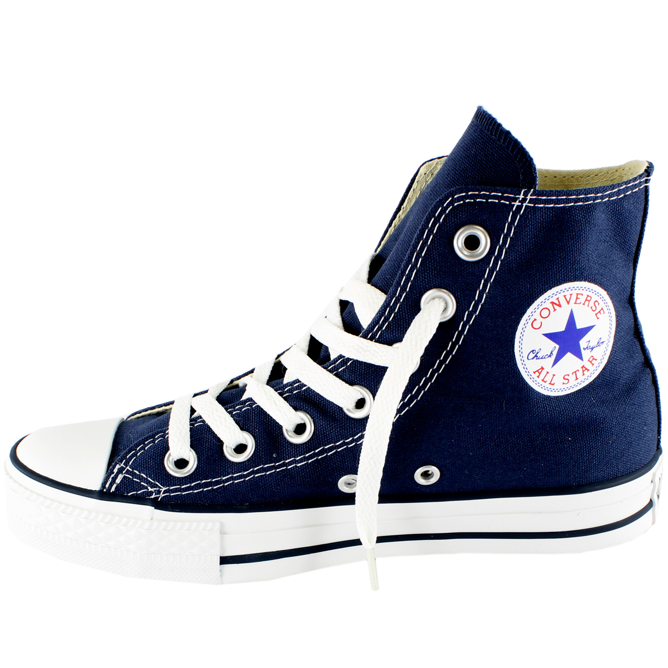 Mujeres Converse All Star Hi High Top Chuck Taylor Chucks Entrenadores UK Tamaños 3-9
