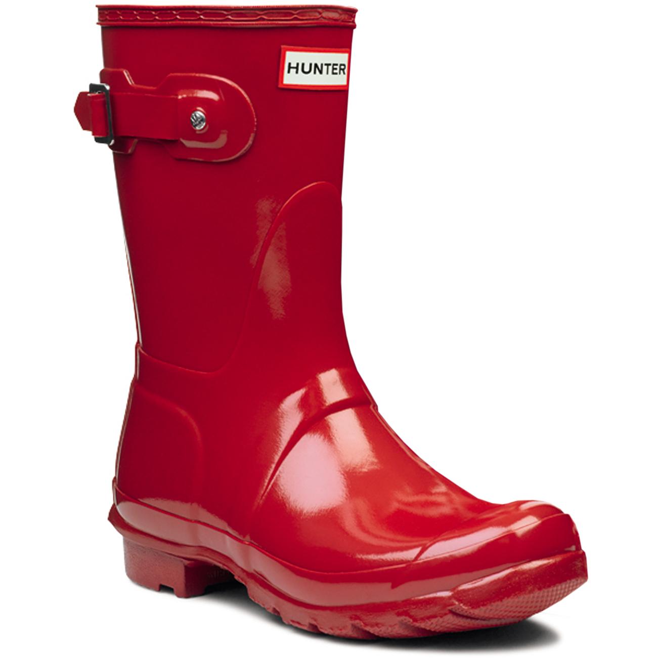 Damenschuhe Hunter Original Short Festival Gloss Winter Festival Short Rain Wellington Stiefel UK 3-9 264d8a