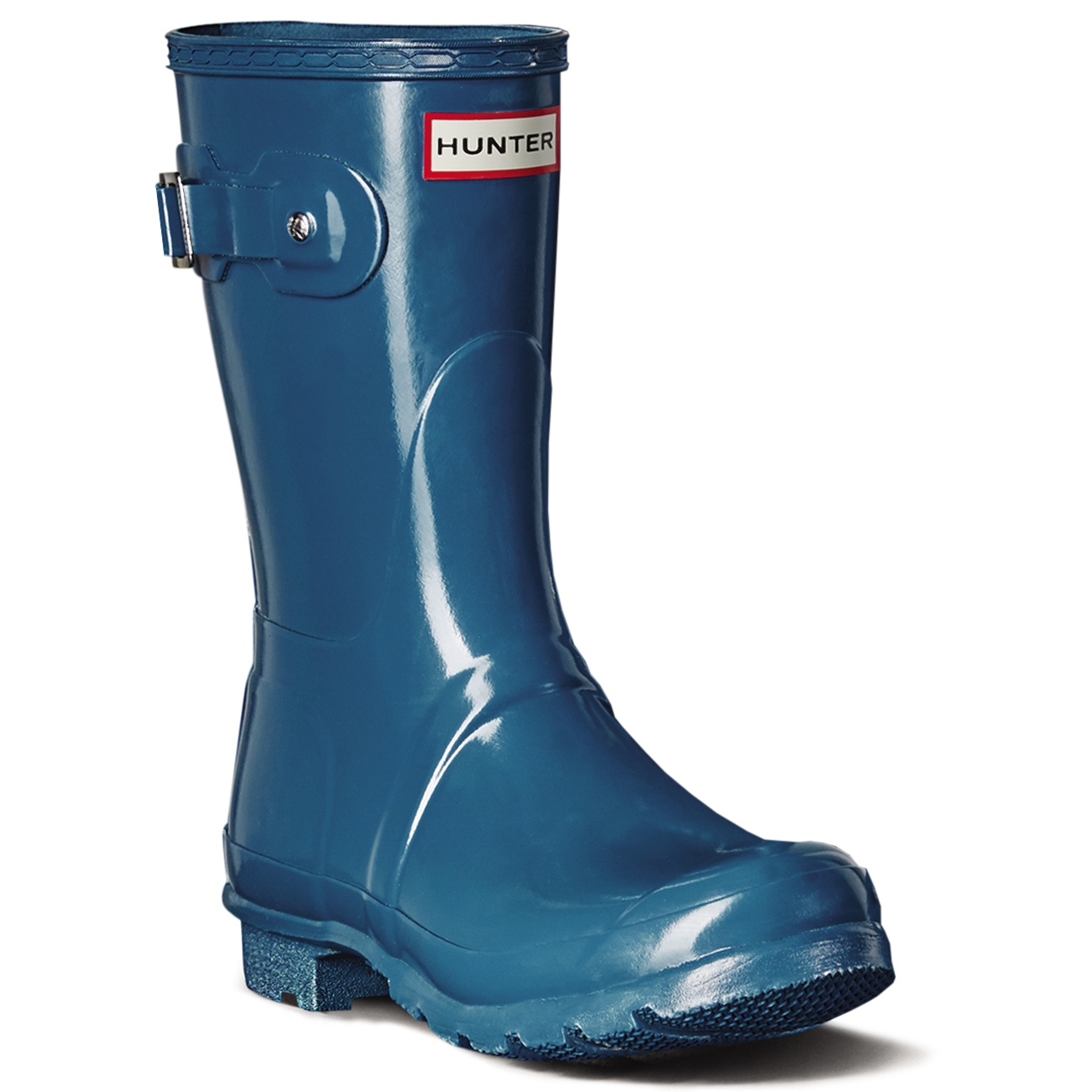 Womens Rain Hunter Original Short Gloss Wellies Festival Snow Rain Womens Winter Boot UK 3-9 747444