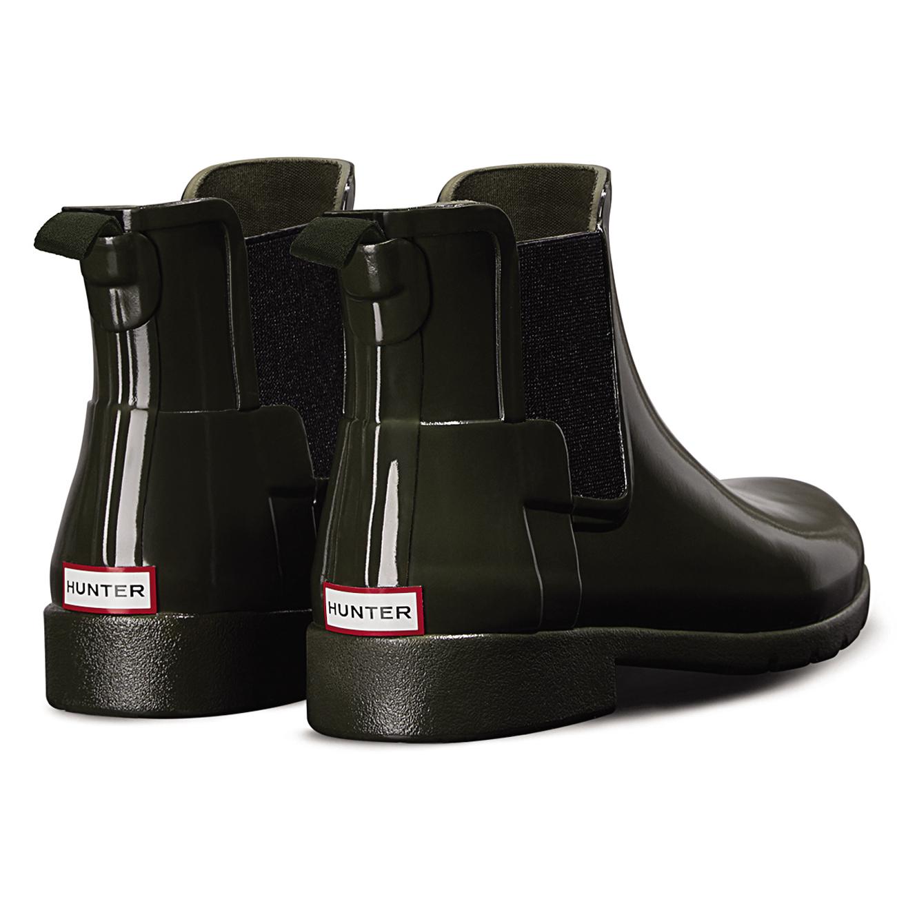 Damenschuhe Hunter Original Refined Chelsea Gloss Waterproof 3-9 Wellie Ankle Boot UK 3-9 Waterproof 318fa2
