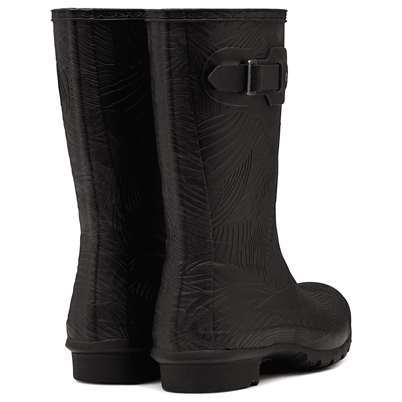 Damenschuhe Hunter Original Short Winter Wave TextuROT Wellies Snow Winter Short Rain Boot UK 3-9 170e27