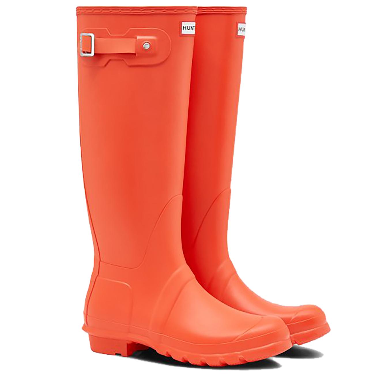 Womens Hunter Original Tall Rubber Waterproof Snow Rain Wellington ... a2512737527