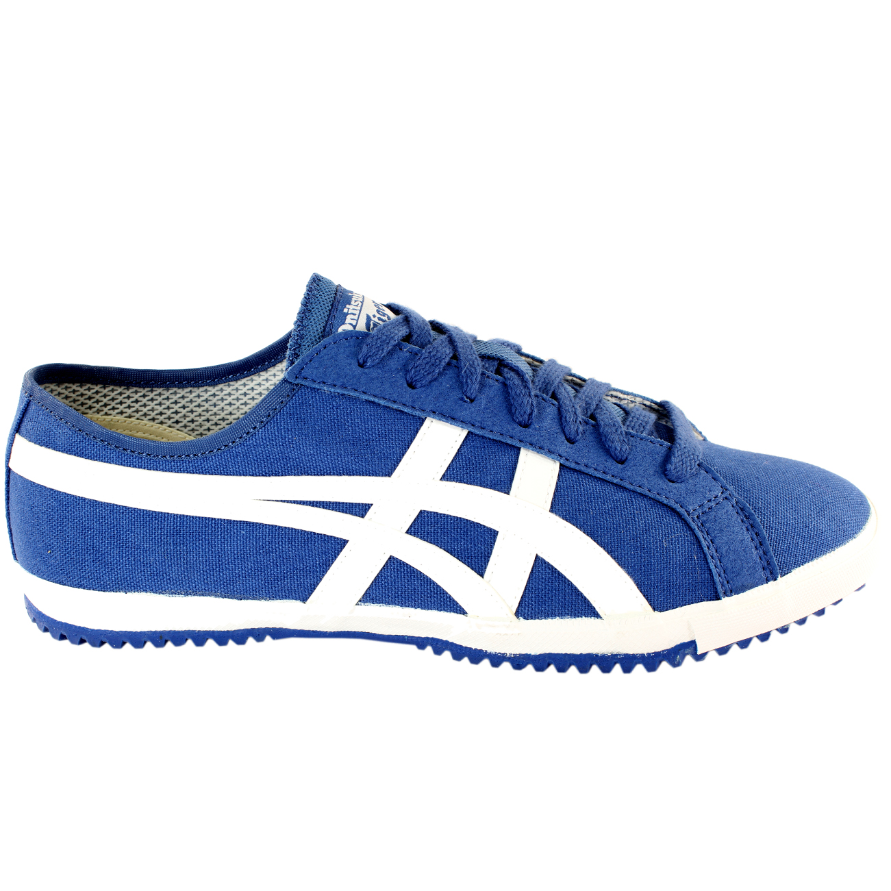mens asics onitsuka tiger retro glide cv lace up sporting vintage trainers 6