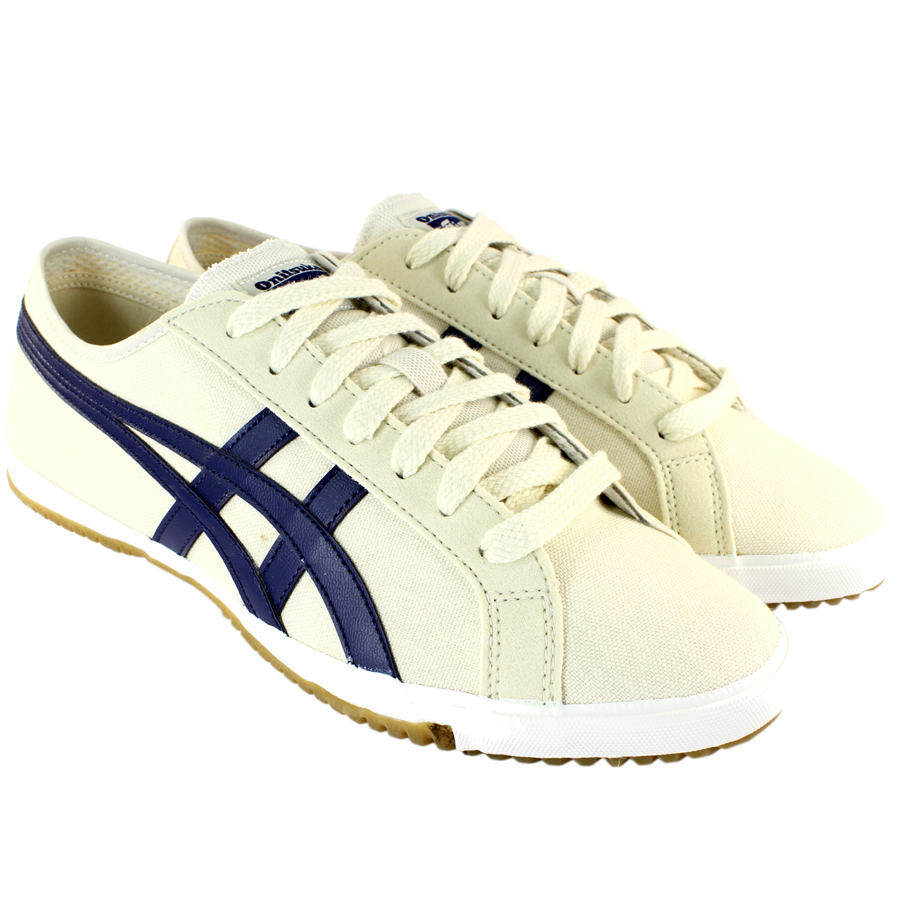 mens asics onitsuka tiger retro glide cv lace up sporting