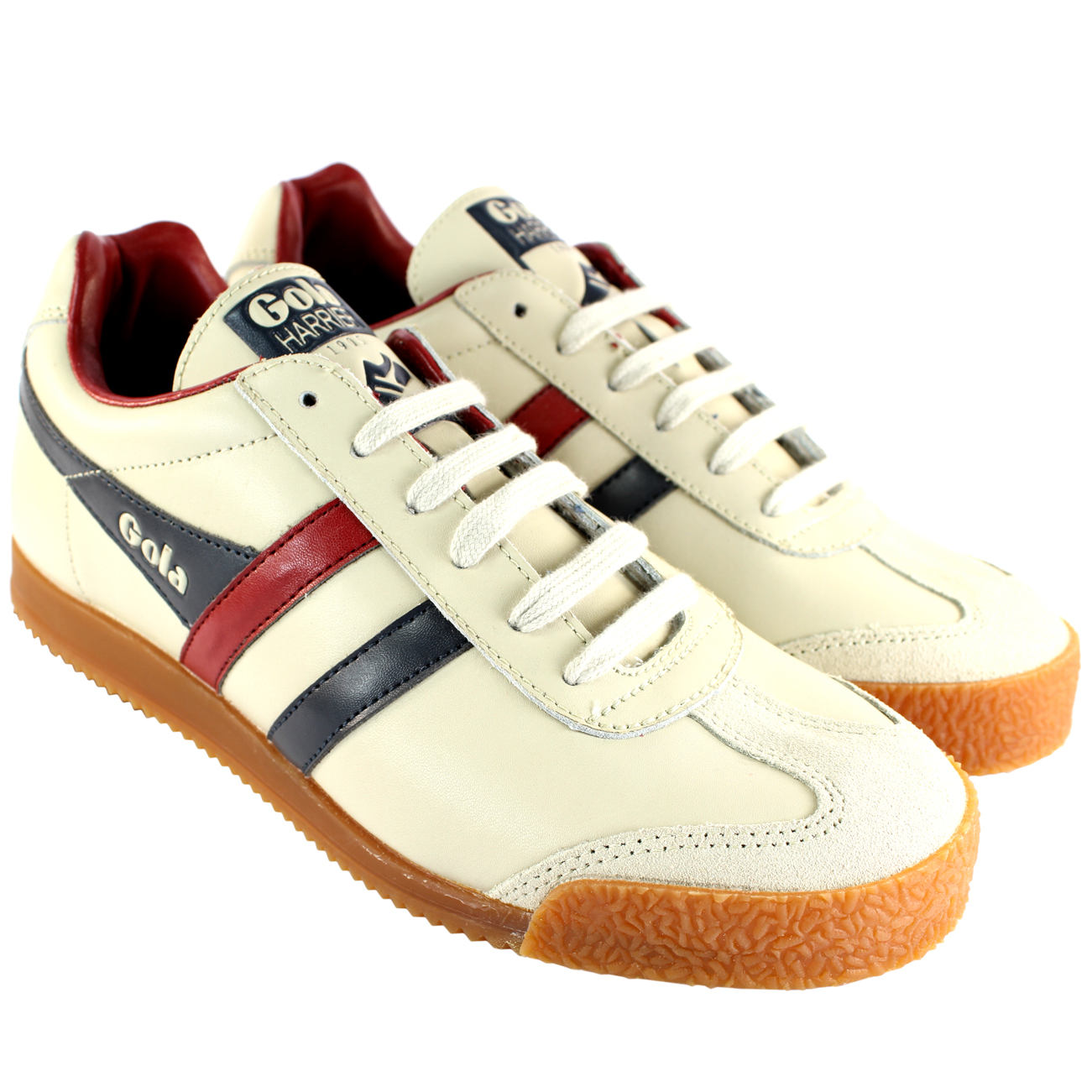 Gola Harrier Leather Trainers