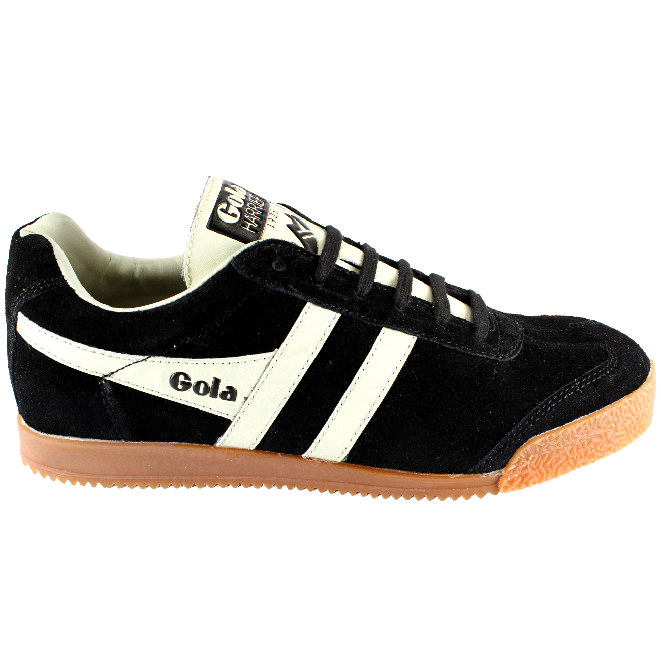 MENS GOLA HARRIER PREMIEM STRIPE STRIPE STRIPE LACE UP SUEDE LOW TOP Turnschuhe UK GrößeS 8-12 b6b0cc