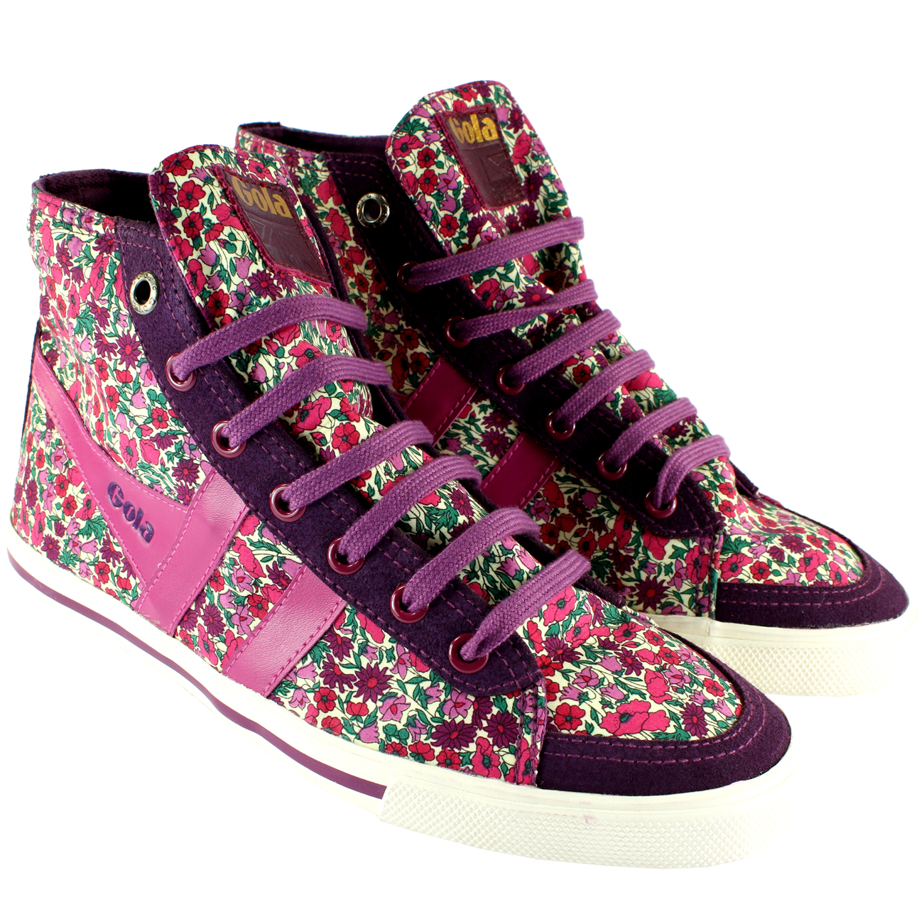 Gola Liberty Quota High Top Petal Trainers