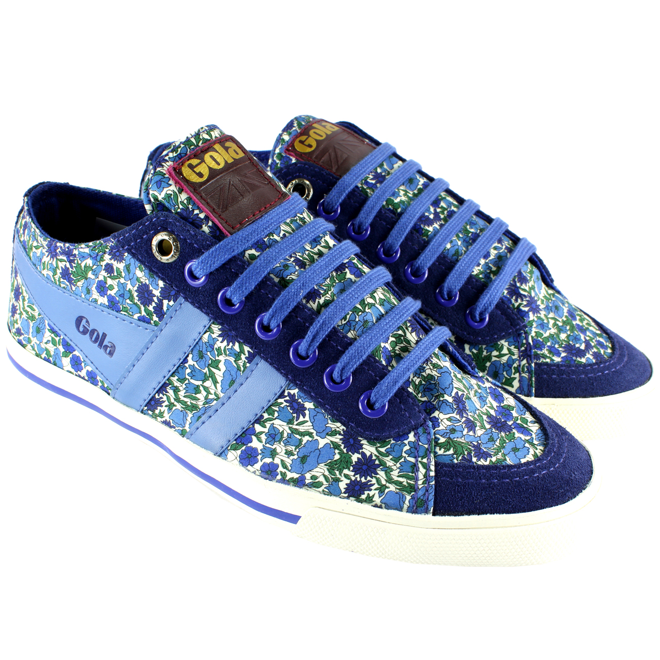 Gola Liberty Quota Low Top Petal Trainers