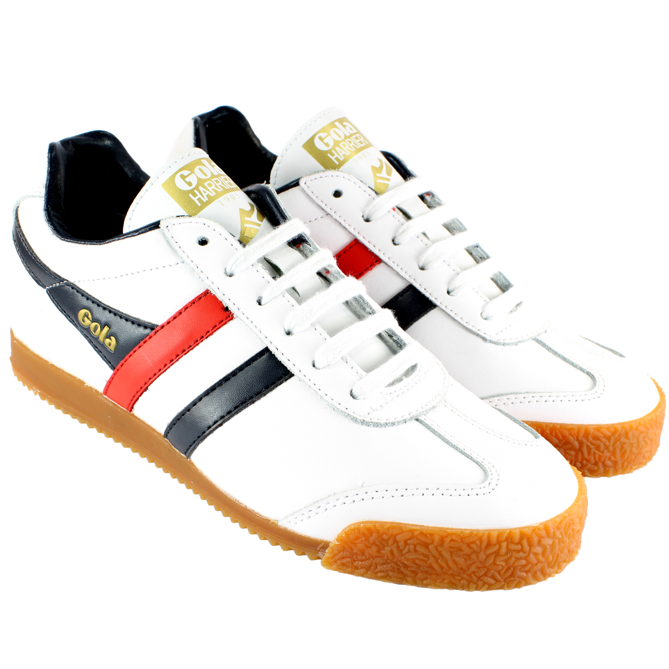 Gola Harrier Low Top Trainers