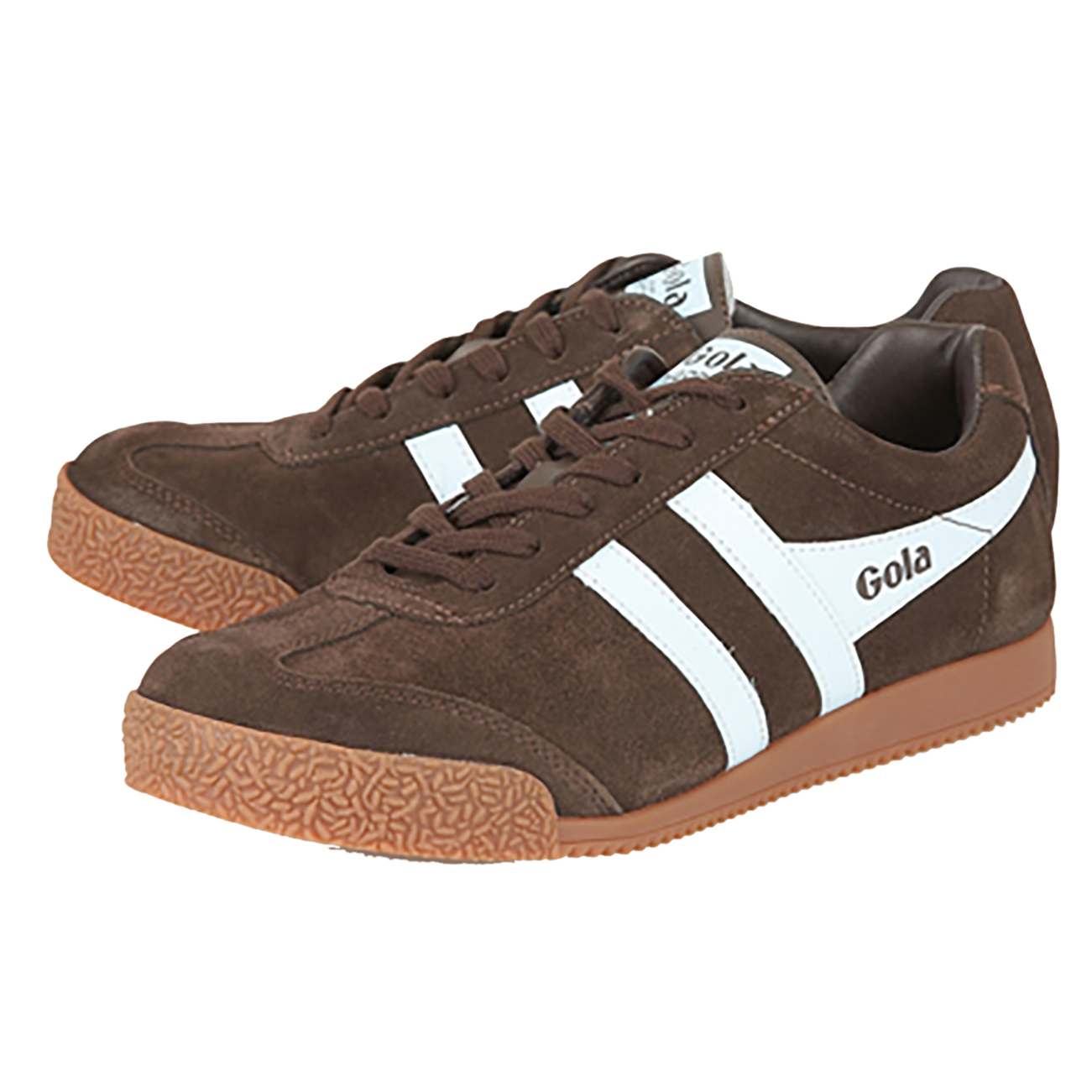 Details Gola Top Trainer 7 Suede Uk About Running 12 Gym Mens Casual Fashion Harrier Sport Low 5Aj43RL