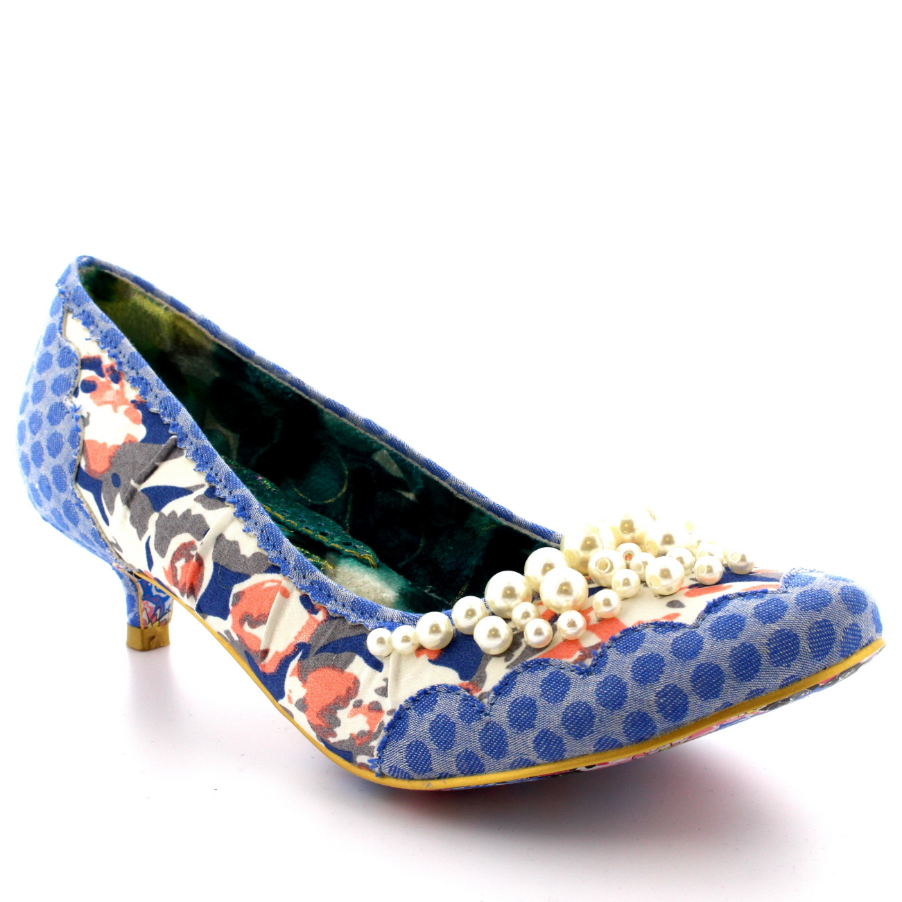 Irregular Choice Pearly Girl Low
