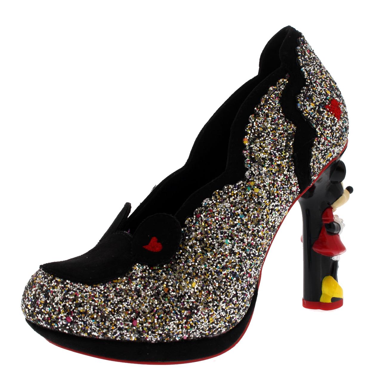 Irregular Choice Minnie Mouse Glitter