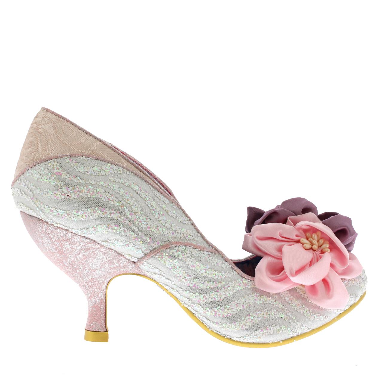 Irregular Choice Little Peaches Pink Man Made Womens Heels 36 Eu