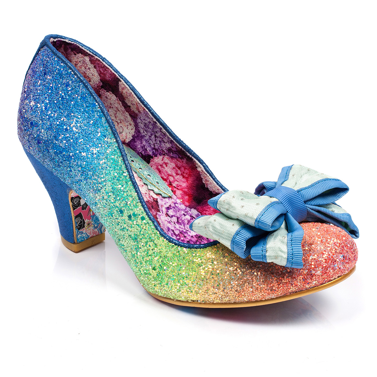 Irregular Choice Lady Ban Joe Rainbow