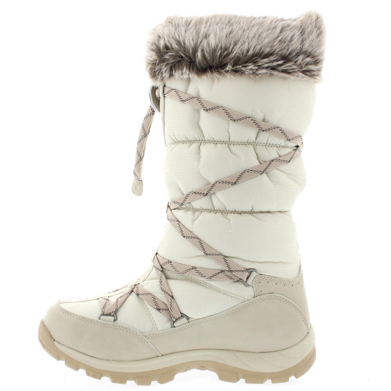 Deportista Florecer acceso  botas para nieve y lluvia mujer