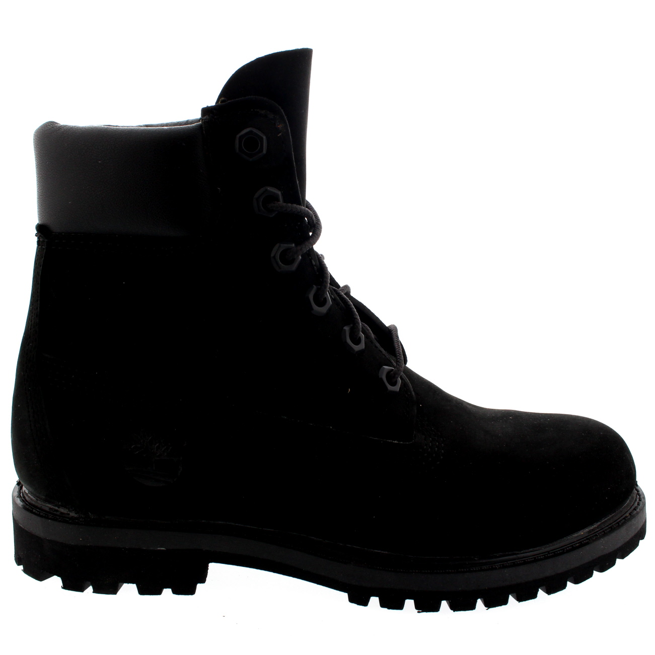 f7dfd312cf48 Details about Womens Timberland 6 Inch Premium Waterproof Lace Up Black  Nubuck Boots UK 3-8