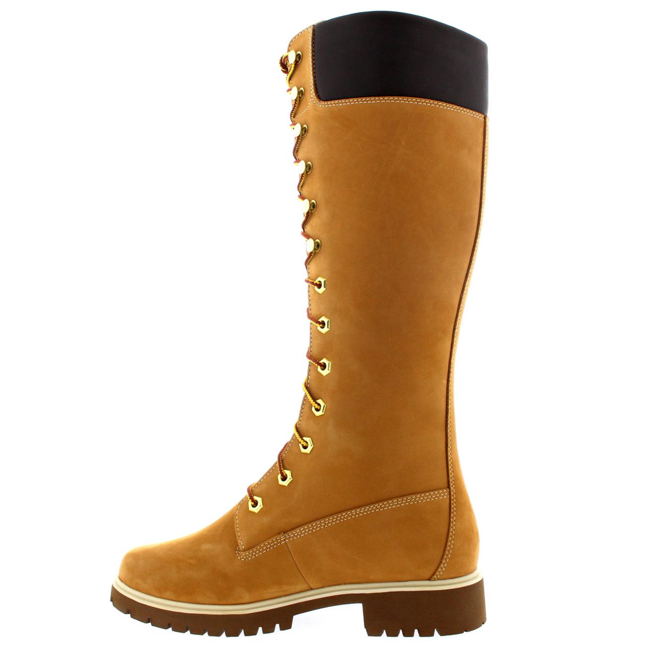 Womens-Timberland-Premium-14-034-Waterproof-Earth-Keeper-Knee-High-Boots-UK-3-9