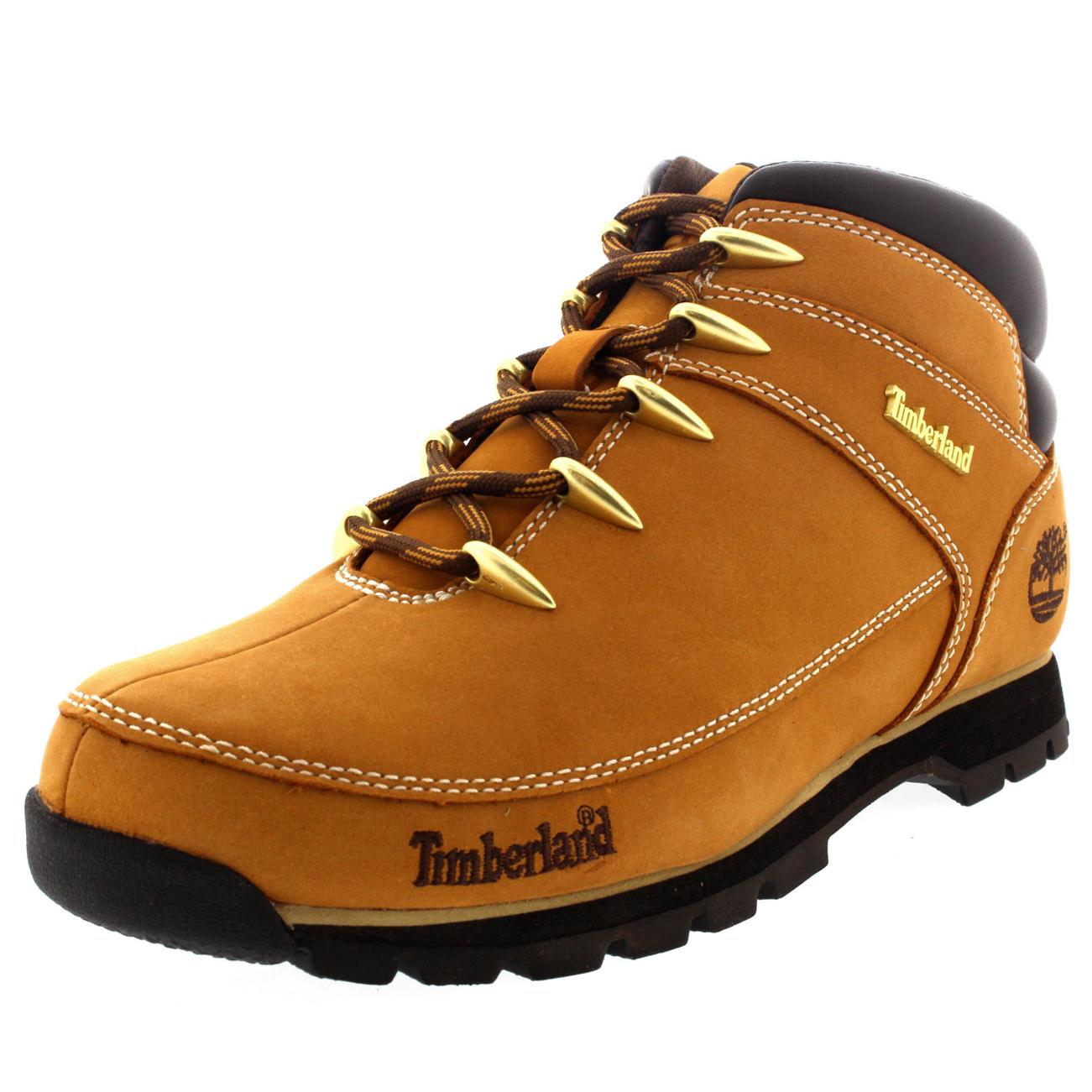 timberland euro sprint hiker mens boots