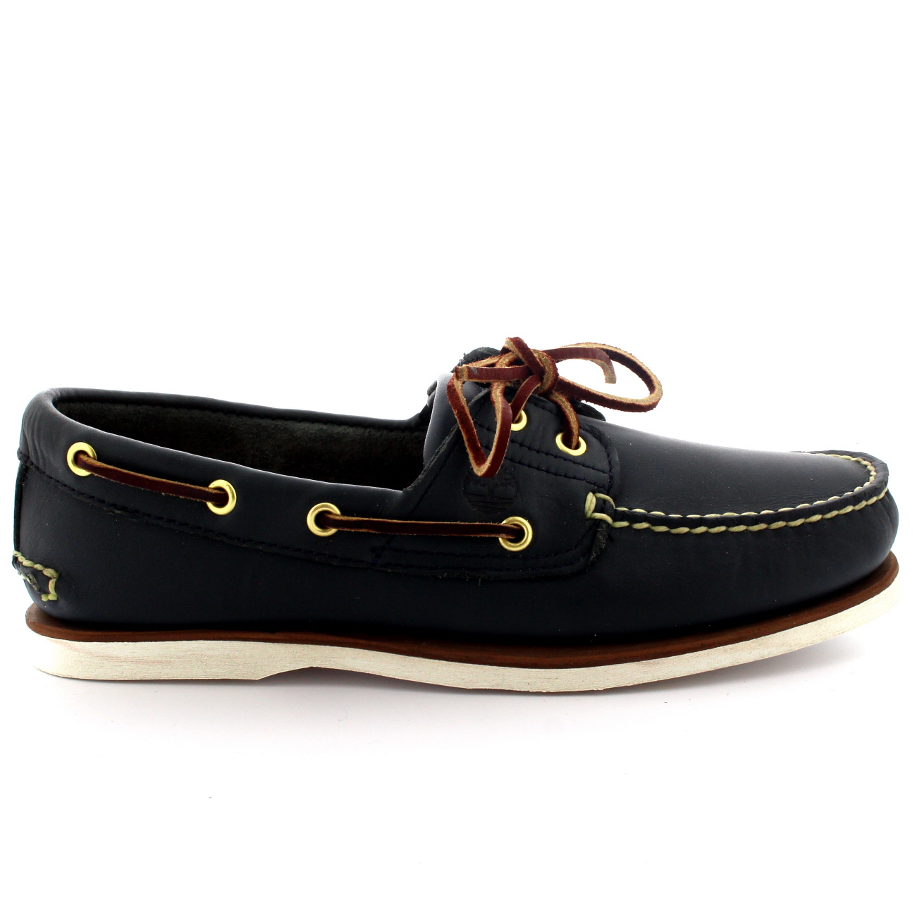 Mens-Timberland-Classic-2-Eye-Boat-Lace-Up-Smart-Leather-Deck-Boat-Shoes-UK-7-13