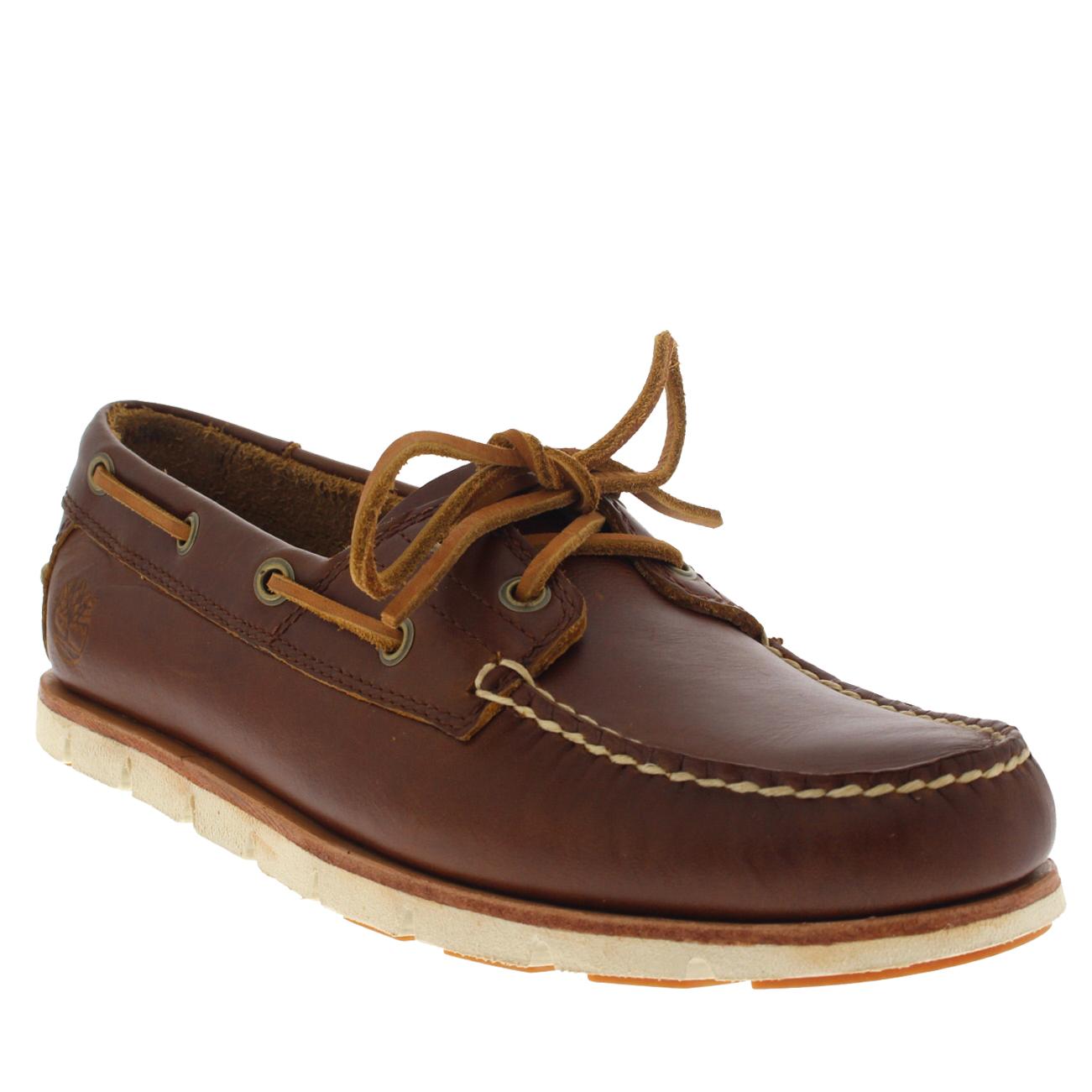 Timberland Hombres Sahara Brando Tidelands 2 Eye Zapatos-UK 8 UuJkvek