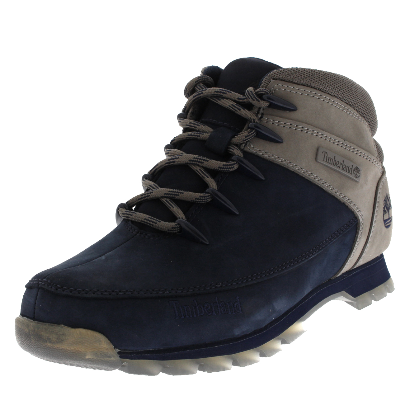 e2180c3bbdb Details about Men Timberland Euro Sprint Hiker Black Iris Hiking Walking  Ankle Boots UK 6-12