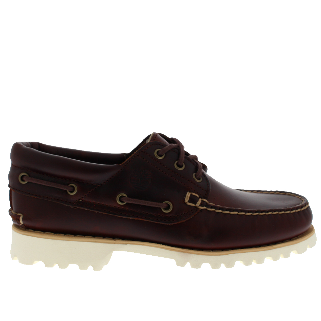 edacdc8d01a Details about Mens Timberland Chilmark 3 Eye Hand Shoes Leather Smart  Casual Moccasins UK 7-12