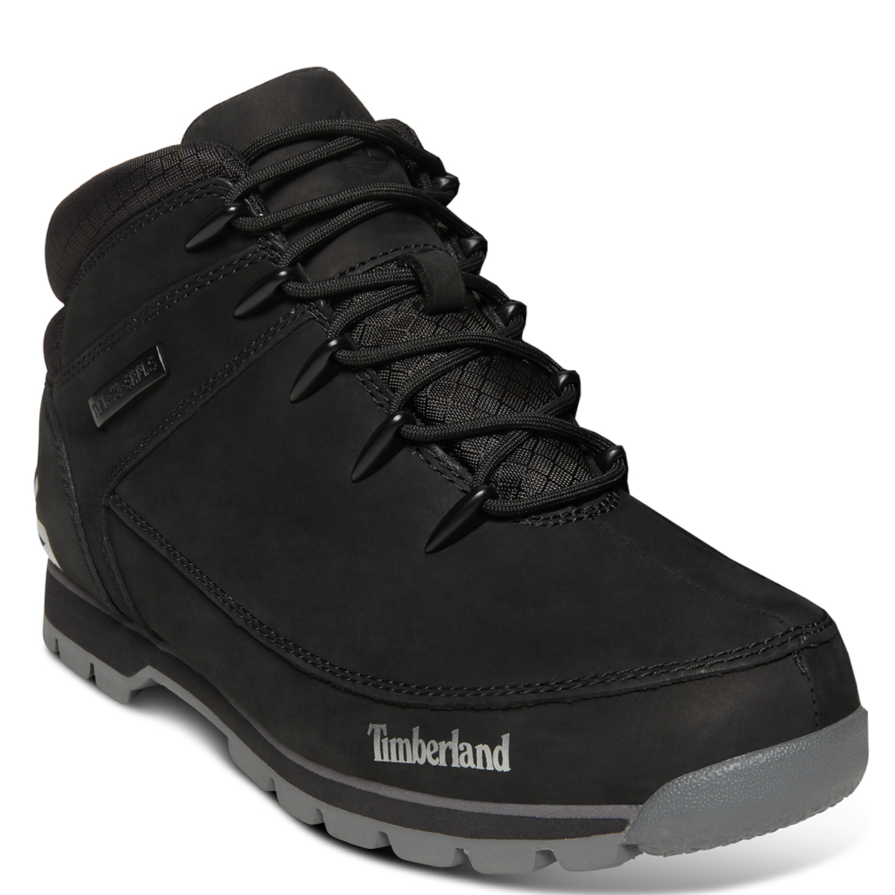 Timberland Mens Euro Sprint Hiker Walking Winter Leather Ankle Boots Jet Black 11