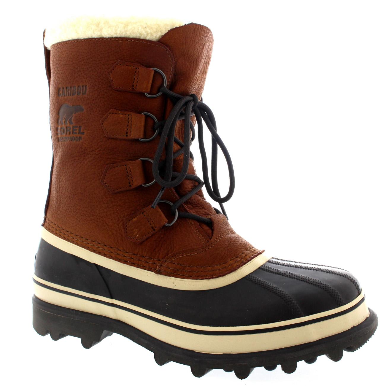 Sorel Caribou Leather