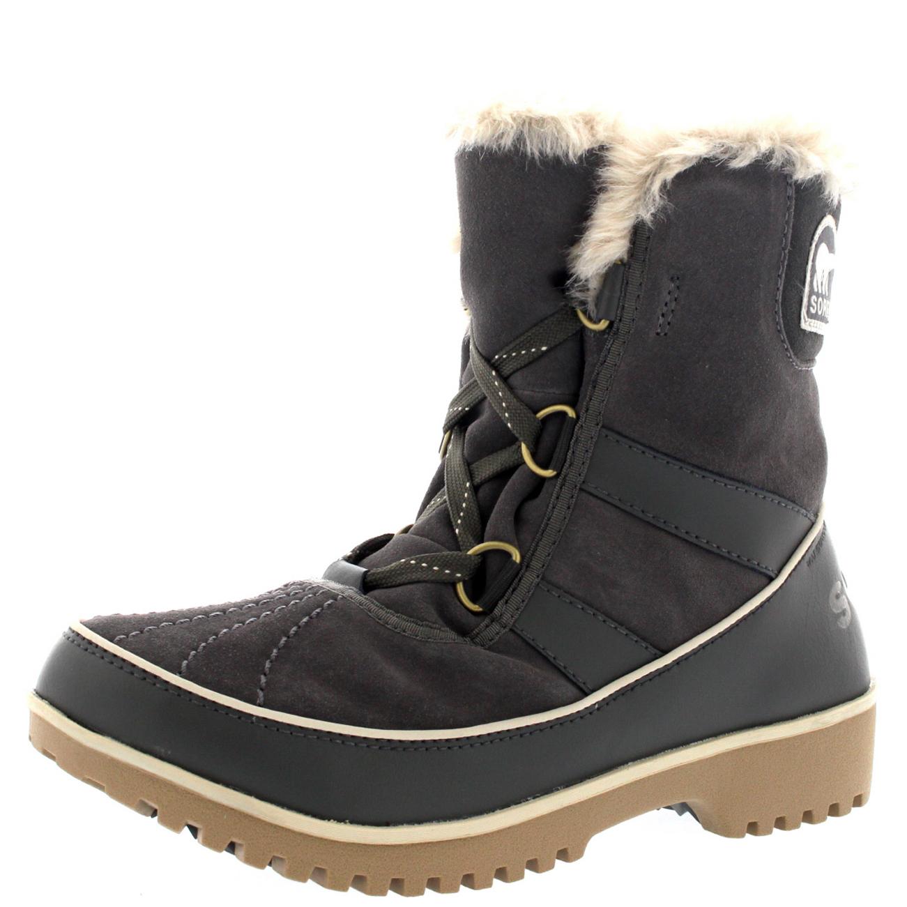 Ladies Sorel Tivolli Up Ii Winter Snow Lace Up Tivolli Rain Warm Fur Lined botas All Talla 75dcb9