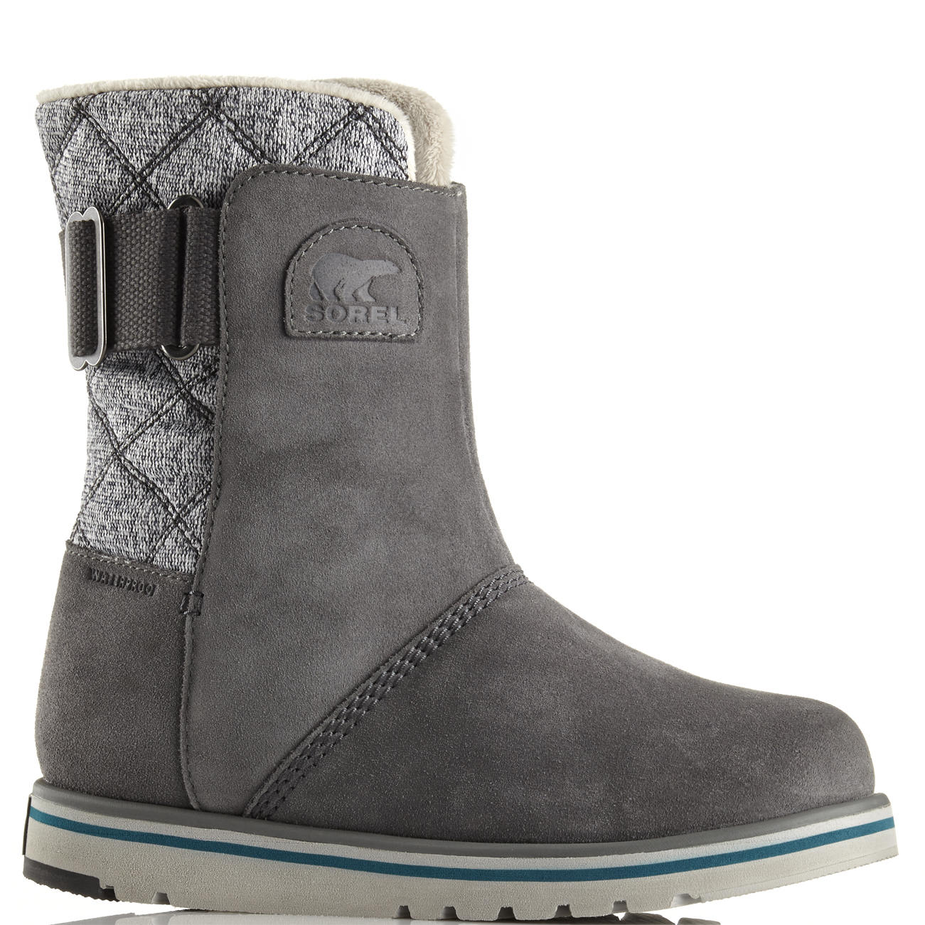 damen Sorel Rylee Waterproof Suede Winter Snow Rain Warm Mid Mid Mid Calf Stiefel UK 3-9 f44e7a