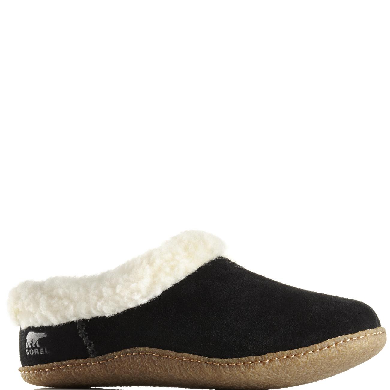 Da-Donna-Sorel-Nakiska-Slide-Inverno-Pelliccia-con-Muli-Pantofole-in-Pelle-Scamosciata-Scarpe-Uk-3-9