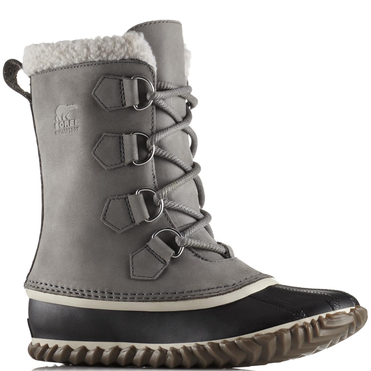 Damenschuhe Sorel Caribou Slim Mid Nubuck Waterproof Winter Hiking Mid Slim Calf Stiefel UK 3-9 e86afb