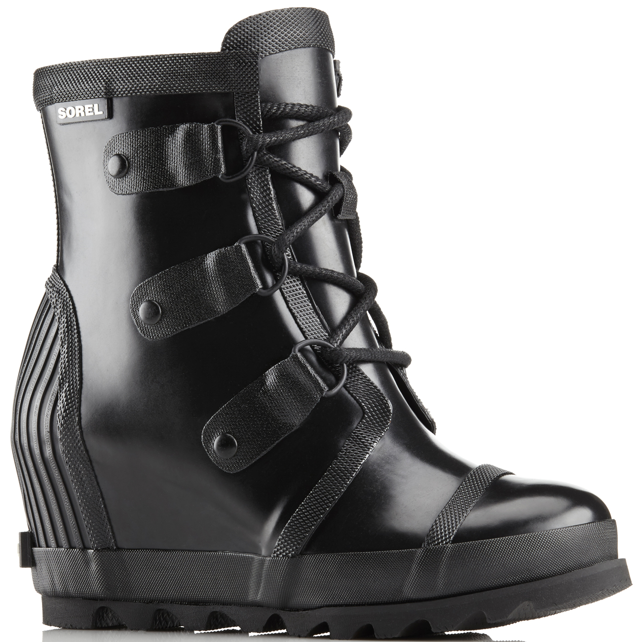 Sorel Joan Rain Wedge Gloss