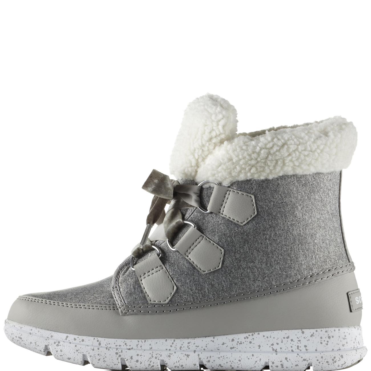 Damenschuhe Sorel Explorer Carnival Waterproof Stiefel Nylon Winter Fleece Ankle Stiefel Waterproof UK 3-9 52c5f7