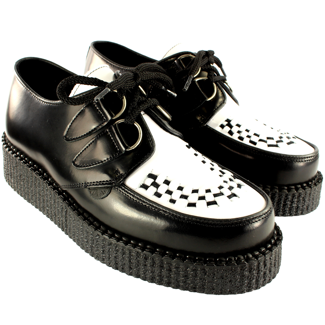 Underground Creepers Leather Punk Shoes