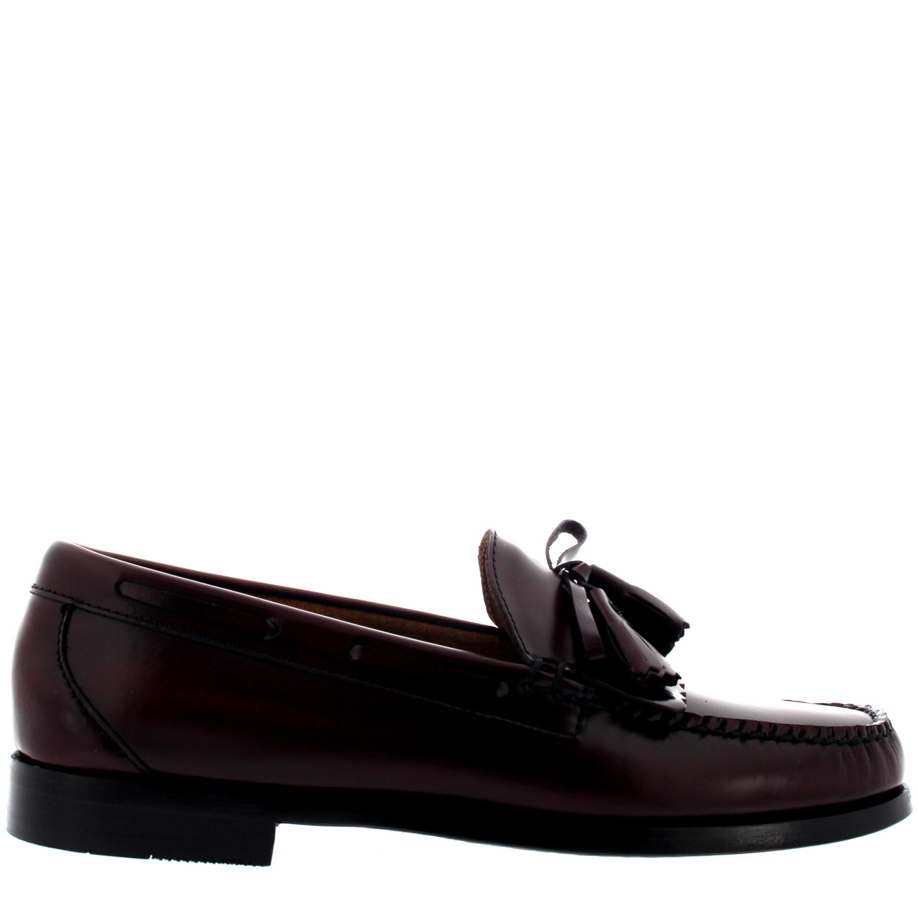 G. H. Bass & Co. WEEJUN LAYTON MOC KILTIE - Smart slip-ons - wine
