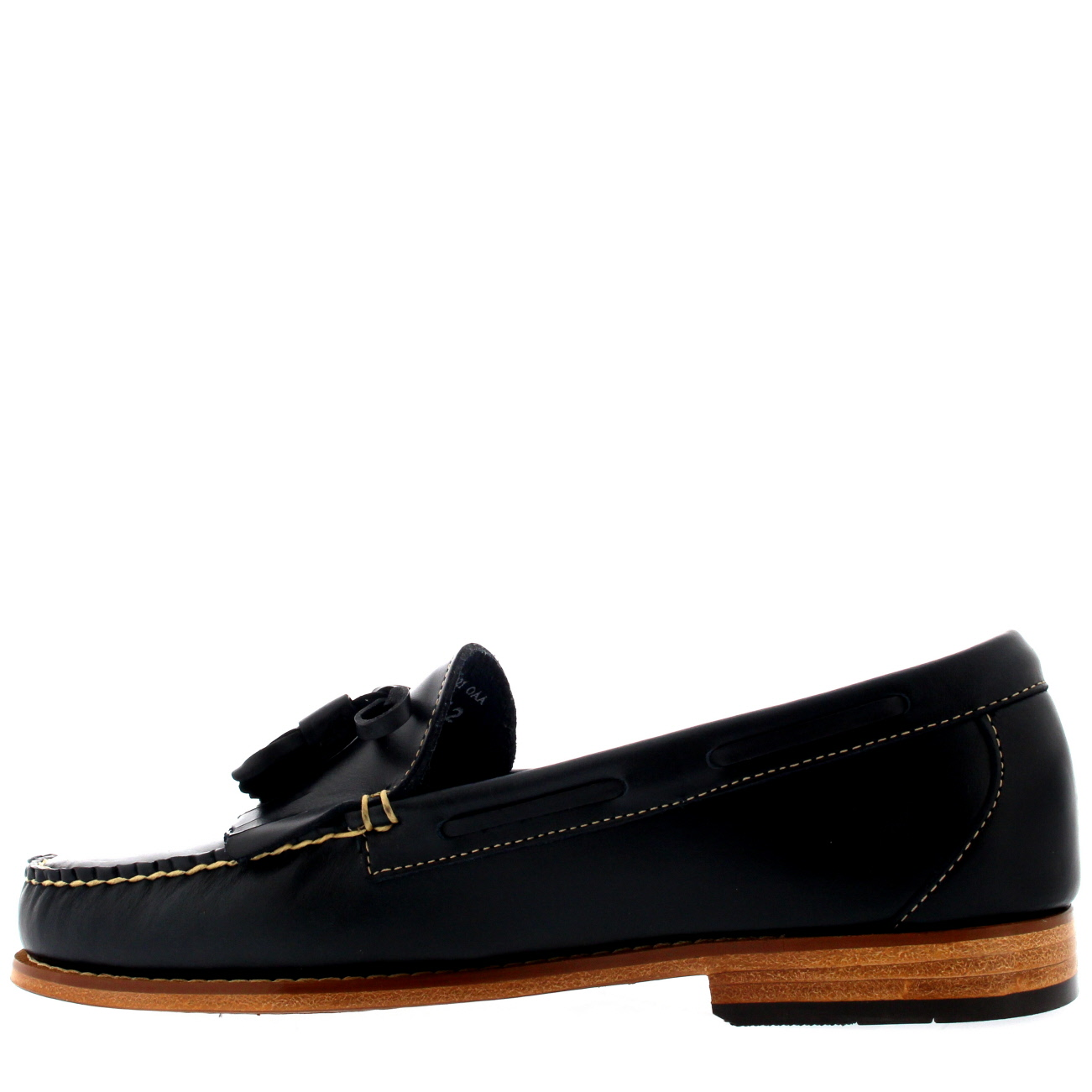 Mens G.H G.H G.H Bass Weejuns Layton Pull Up Kiltie Smart Leather Loafers schuhe UK 6-12 5e51a0
