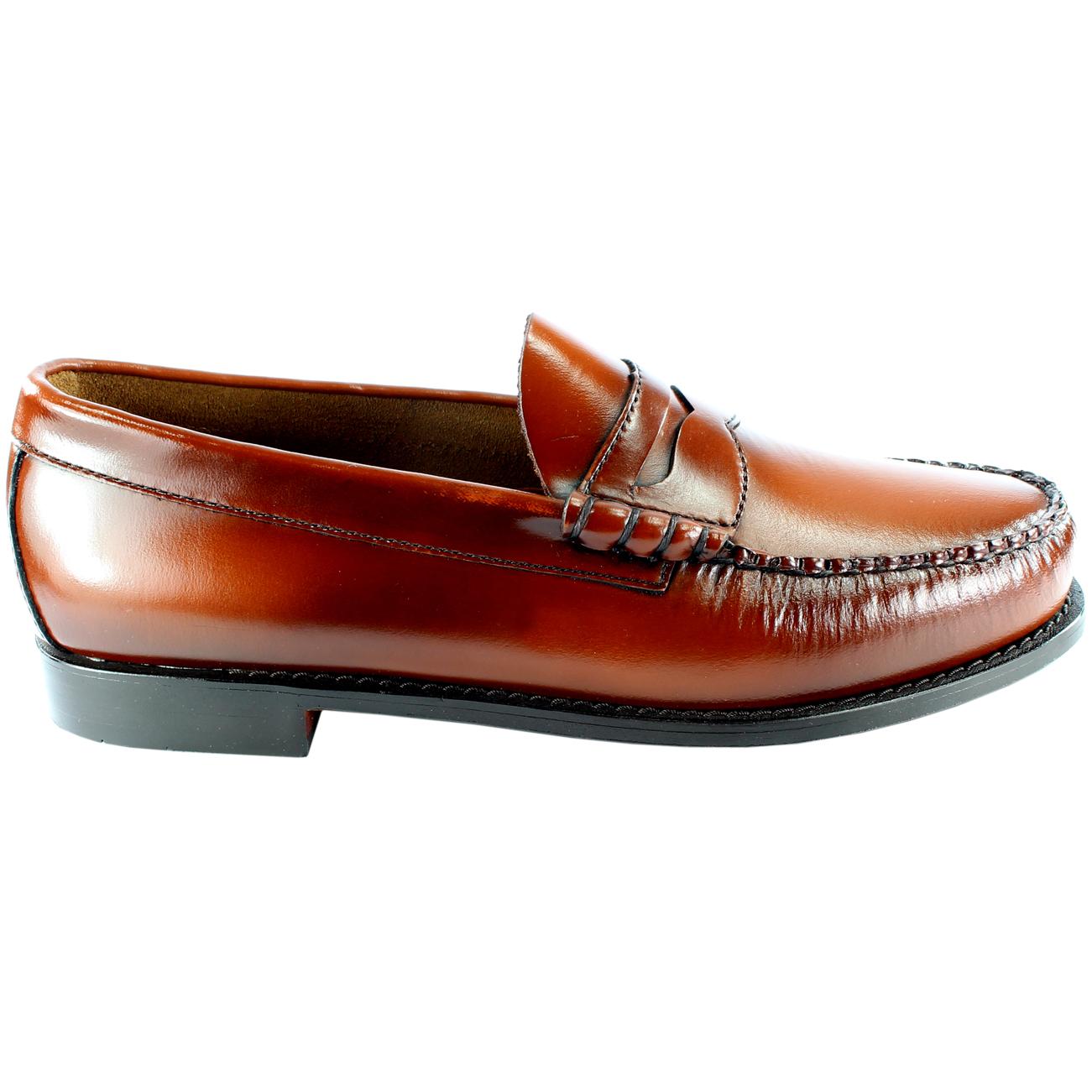 G.H. Bass Men's Larson Leather Penny Loafers HRvFi3Um