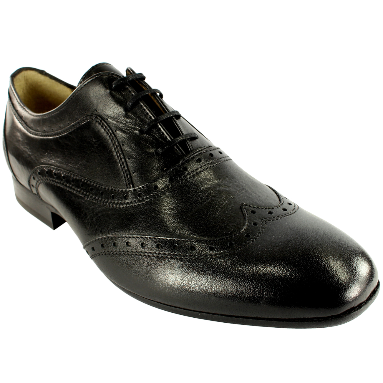 Uomo H By Up Hudson Francis Brogue Lace Up By Smart Leder Schuhes New UK Größes 7-13 e12aeb