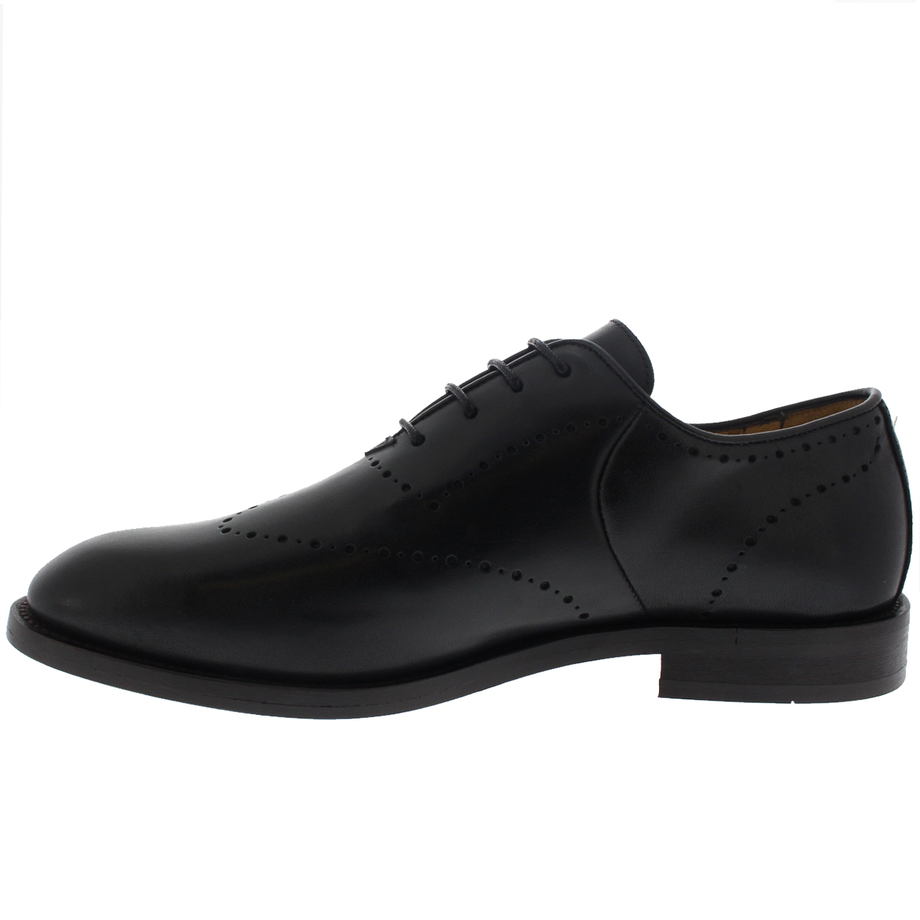 Mens H By Hudson Twain Leather Smart Oxfords Oxfords Oxfords Office Formal Work schuhe UK 6-12 0568c3
