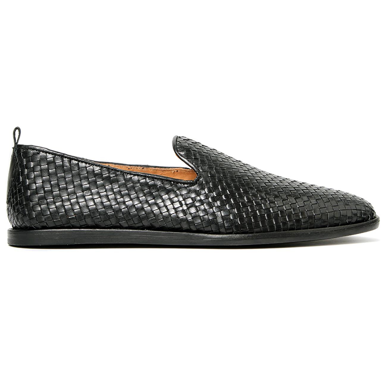 Mens H By Hudson Ipanema 2 Weave Fashion Leather Smart Holiday Work Shoe UK 7-12
