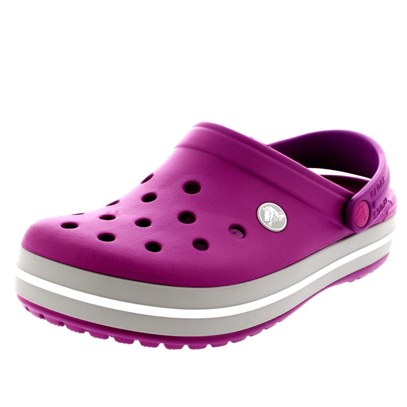 1f9f53f5b2098 Unisex Mens Womens Crocs Crocband Clogs Mules Slipper Summer Beach ...