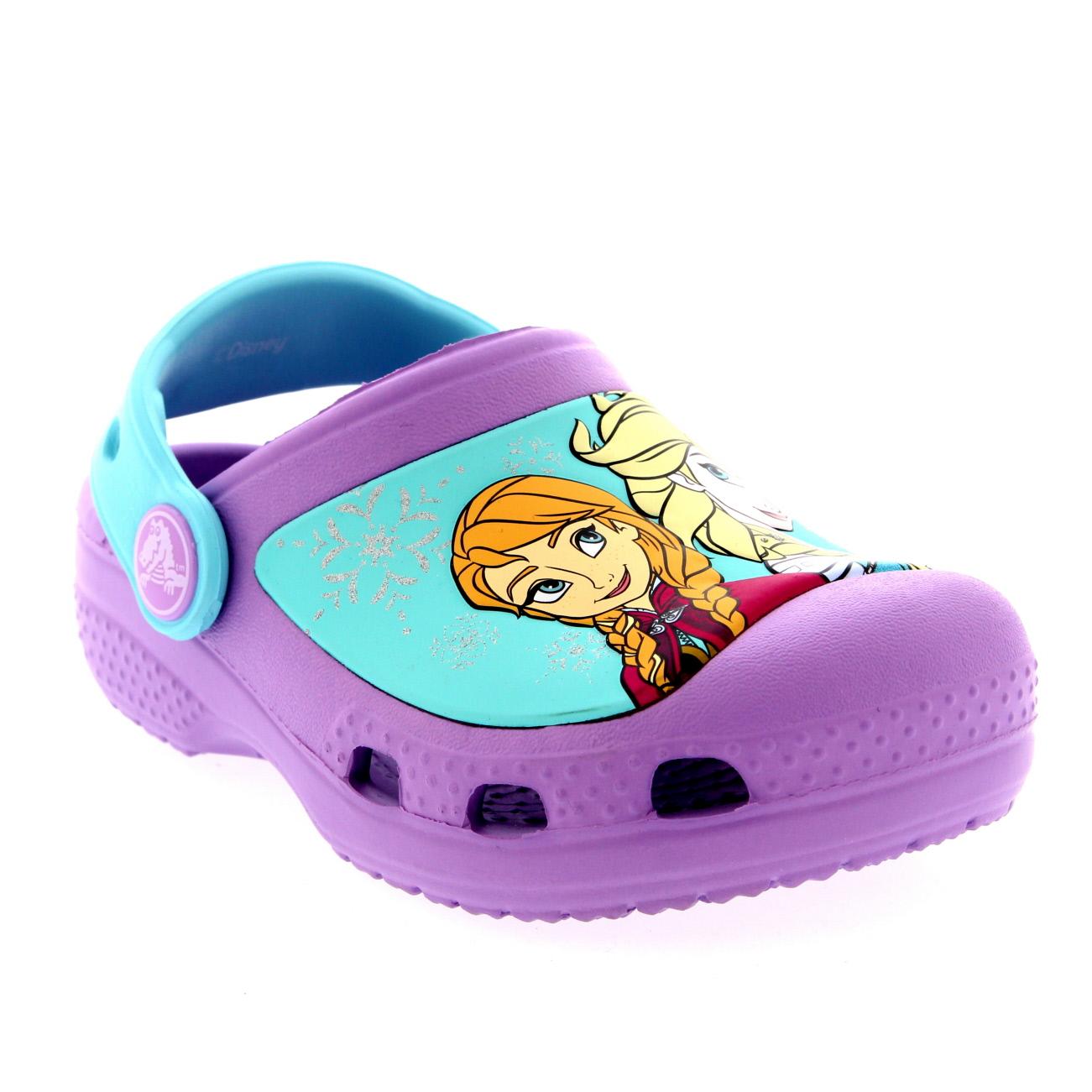 Kids Girls Frozen Clogs