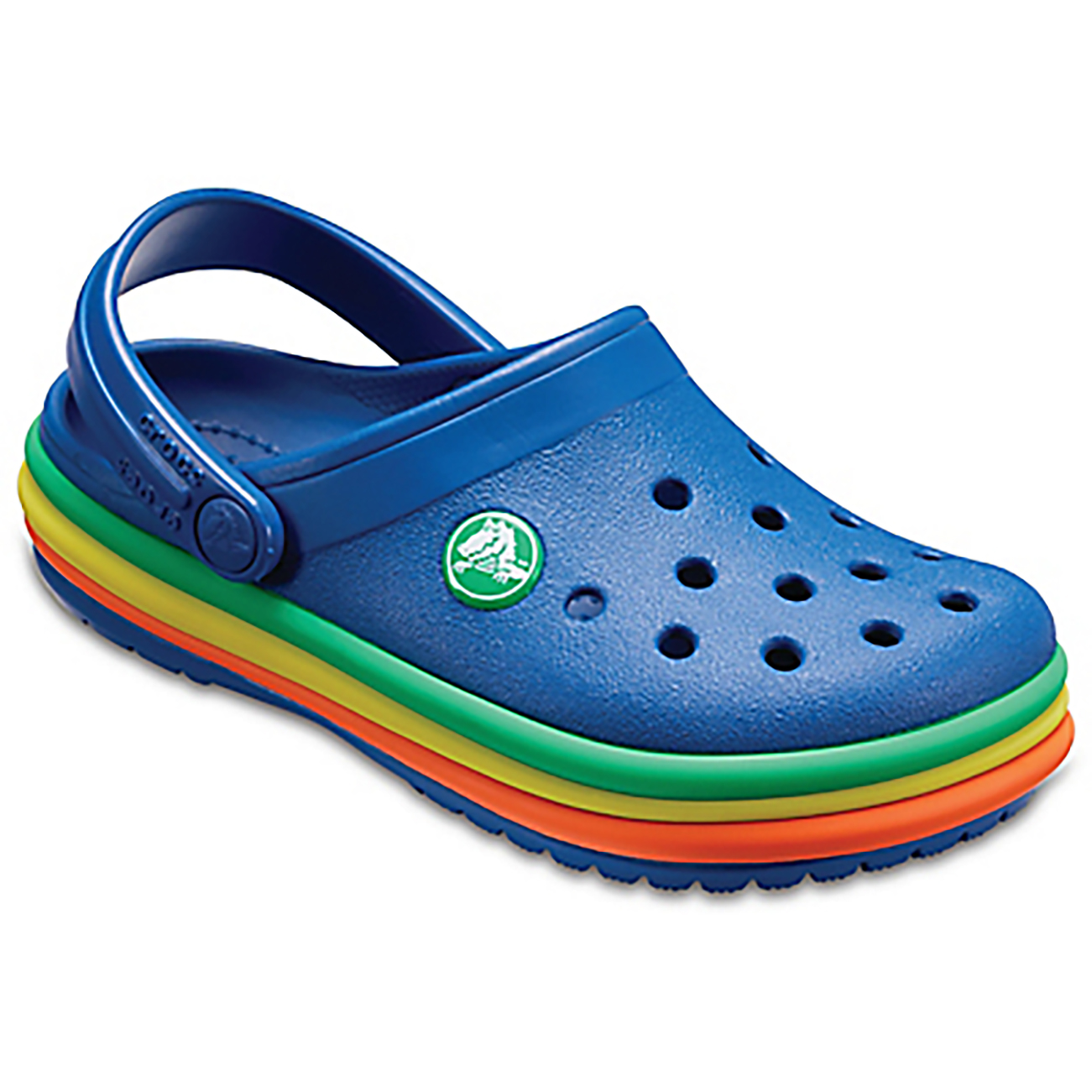 Unisex Kids Crocs Rainbow Crocband Clog