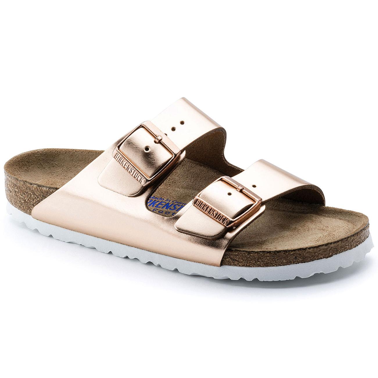 Birkenstock Arizona Soft Footbed Metallic