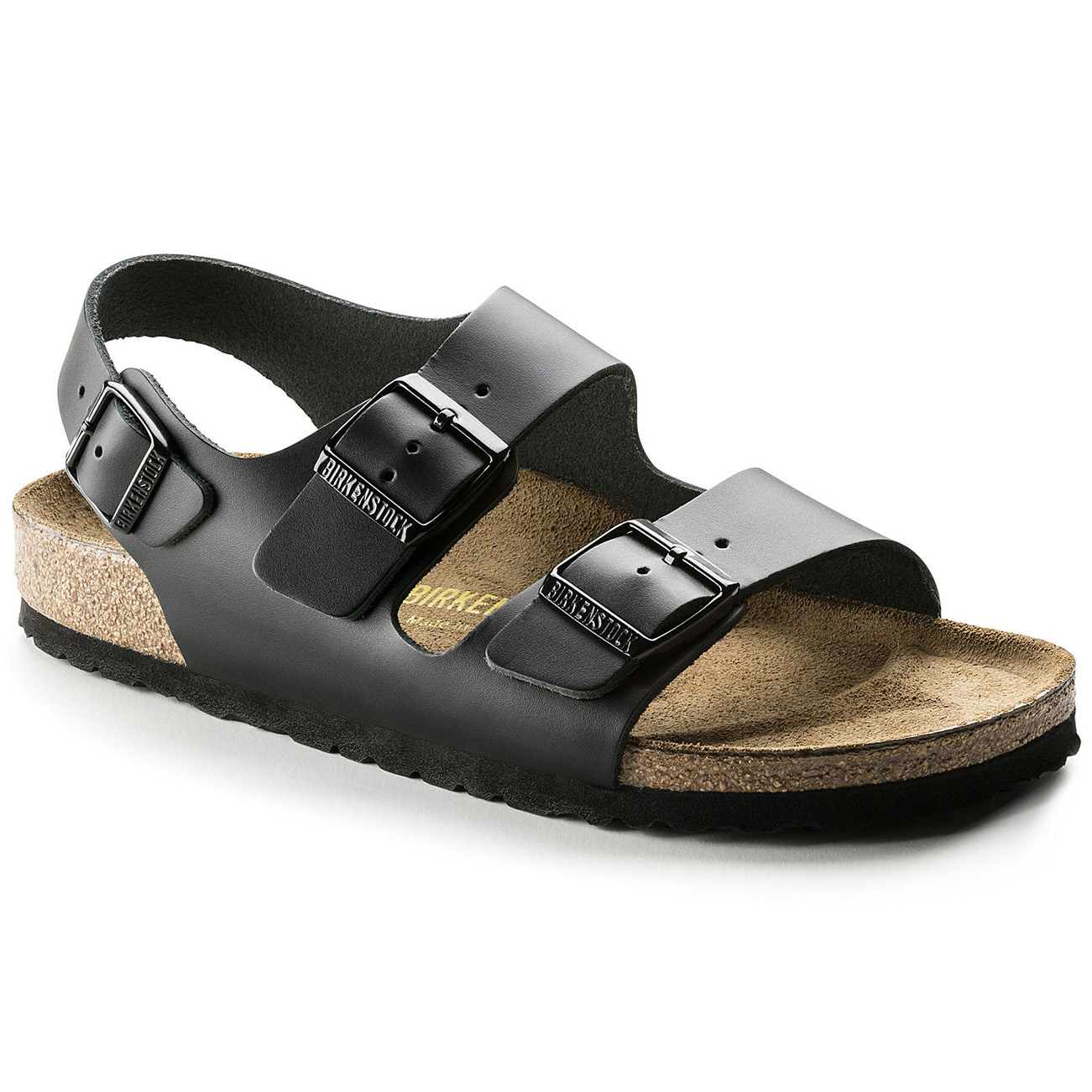 Unisex Adults Birkenstock Milano Natural Leather