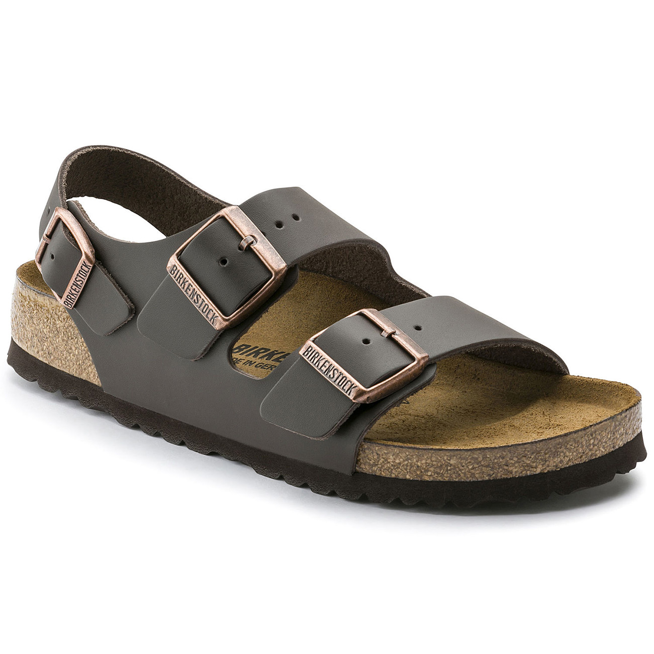 Unisex Adults Birkenstock Milano Smooth Leather