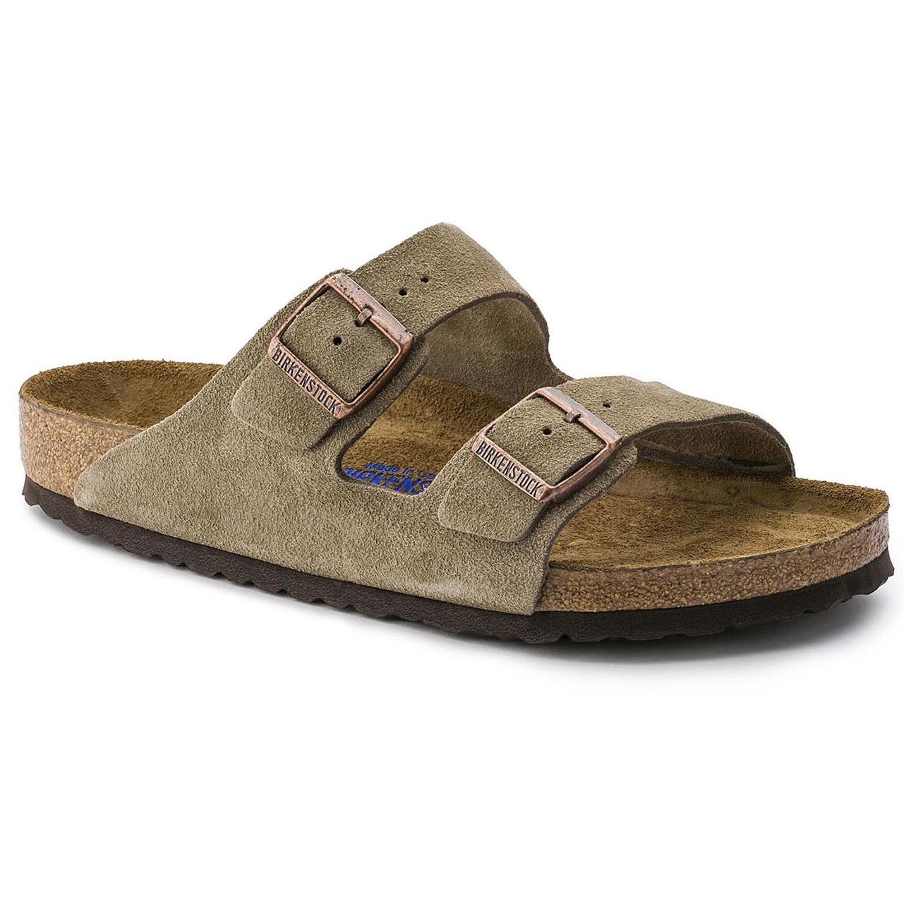 Unisex Adults Birkenstock Arizona Soft Footbed Suede