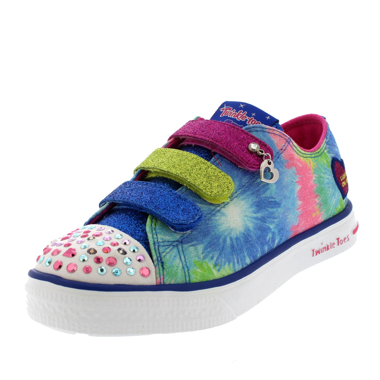 Kids Girls Skechers Twinkle Toes Twinkle Breeze Silly Me