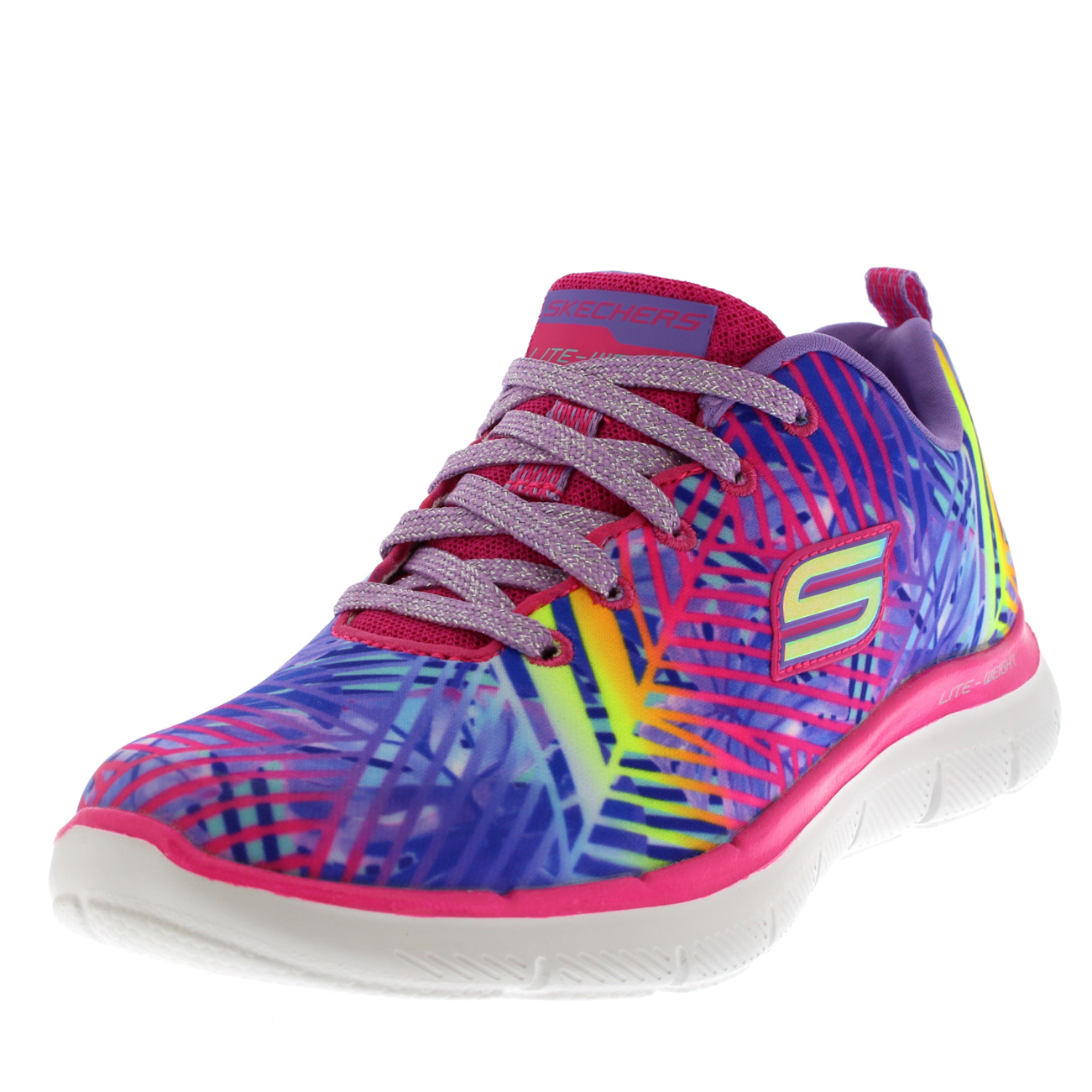 Kids Girls Skechers Appeal 2.0 Tasty Tropics